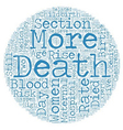 Maternal Deaths Still Happen In This Day and Age vector image vector image
