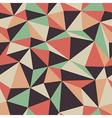 retro triangle pattern seamless vector image