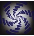 twirl background vector image