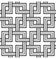 viking seamless pattern - chained squares vector image vector image