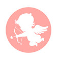 cupid sign vector image vector image