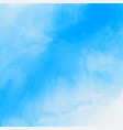 elegant blue watercolor texture background vector image vector image