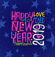 happy new year 2019 inspiring handwritten text vector image vector image