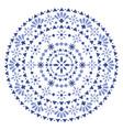 mexican-seamless-pattern-design-mandala-navy-blue vector image vector image