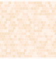peach square pattern seamless background vector image vector image