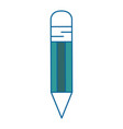 pencil drawing object vector image vector image