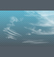 realistic spindrift cloud vector image