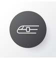 train icon symbol premium quality isolated metro vector image vector image