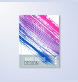 abstract book design template vector image vector image
