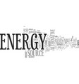 alternative energy investments text word cloud vector image vector image