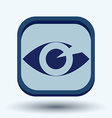 Eye icon vector image vector image