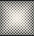 halftone seamless texture with flower vector image vector image