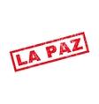 La Paz Rubber Stamp