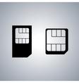 Set icons SIM card vector image