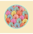 Abstract colorful round design element vector image vector image