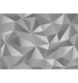 Abstract grayscale triangles 3d background vector image vector image