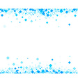 Background with blue rhombs vector image vector image