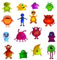 Cute monsters vector image