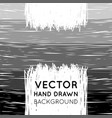 hand drawn striped background vector image vector image
