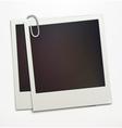 polaroid photo frames vector image
