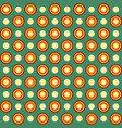seamless geometric pattern with circles vector image vector image