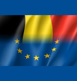 symbol belgium is eu member vector image vector image