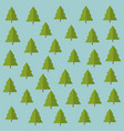 tree pines pattern background vector image vector image