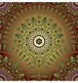 Vintage gradient seamless pattern vector image vector image