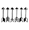 Cute arrows vector image