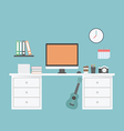 54workspace vector image vector image
