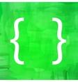 Bracket Icon vector image