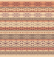 brown tribal seamless pattern with ethnic vector image vector image