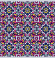 festive colorful tiled pattern vector image vector image