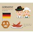 German culture design vector image vector image