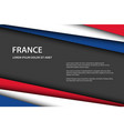 modern background with french colors vector image