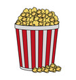 popcorn icon image vector image vector image