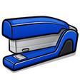 stapler cartoon isolated design vector image vector image
