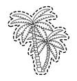 tree icon image vector image
