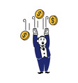Business Clipart Fall Coin