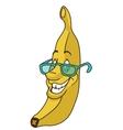 Fresh banana cartoon vector image vector image