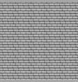 grey brick wall seamless texture vector image