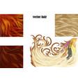 hair set vector image vector image