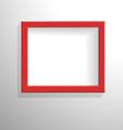 Red frame-Przekonwertowany vector image vector image