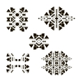tribal elements set 2 vector image vector image