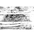 wood planks overlay vector image vector image