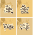 Coffee breaks vector | Price: 1 Credit (USD $1)