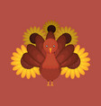 happy thanksgiving design vector image