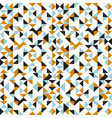 seamless texture with geometric triangle abstract vector image vector image