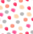 seamless watercolor dots background vector image vector image