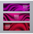 Set of templates for design banners vector image